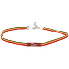 John Galliano for Christian Dior Rasta Collection Choker