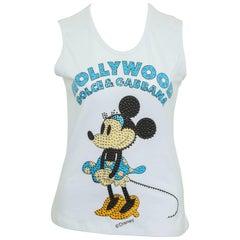 Dolce & Gabbana Disney Minnie Mouse Tank Top T-Shirt