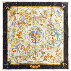 "Historic Hermès Scarf Pierres d""Orient d'Occidant Created by Zoe Pauwels"