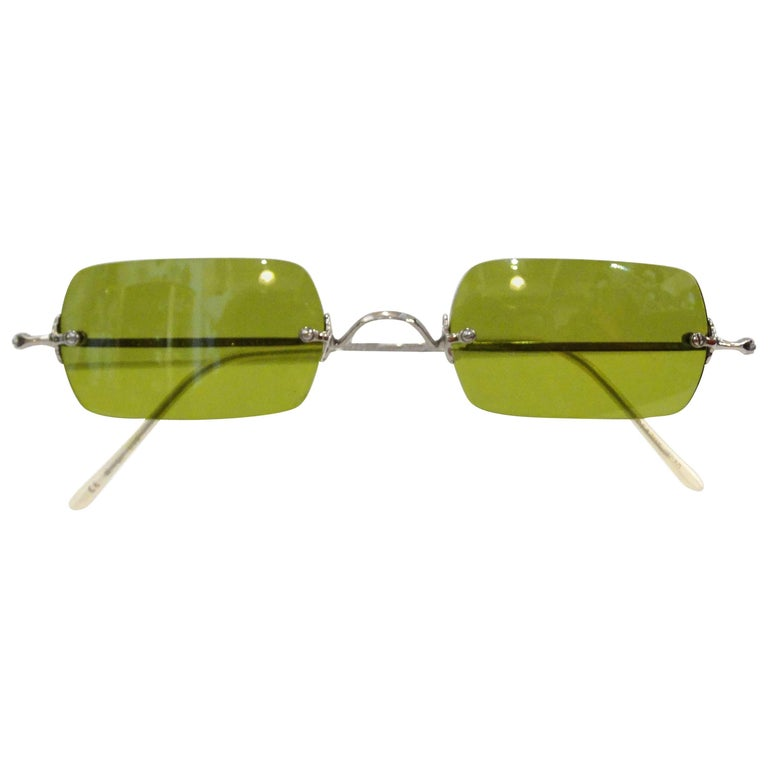Oliver Peoples Olive Green Lens Sunglasses