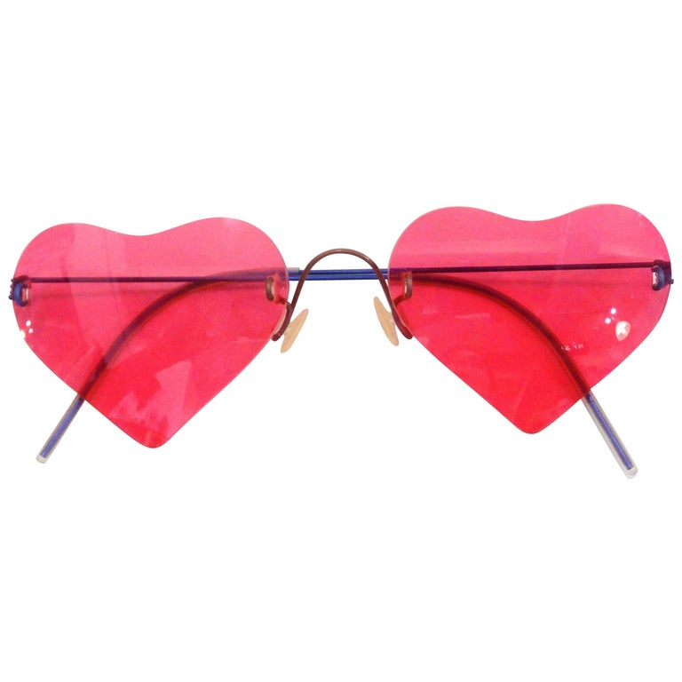 Lindberg Eyewear Lolita Heart Shaped Sunglasses
