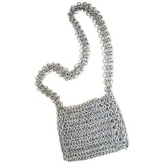 1960's Mod Chain Maille Shoulder Bag - Custom Made