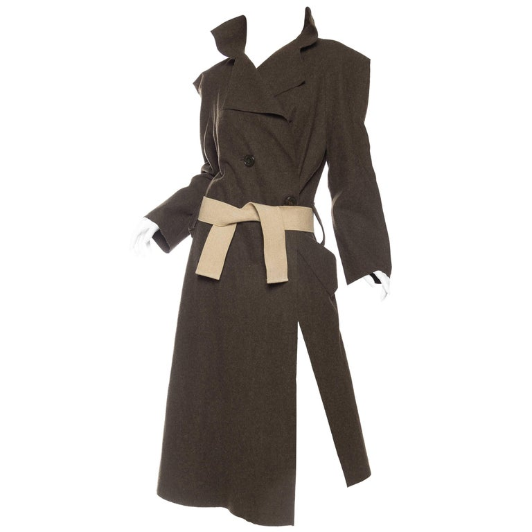 Vivienne Westwood Savage Wool Trenchcoat For Sale
