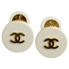 1990s Classic Chanel Cufflinks