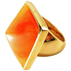 Kenneth Jay Lane Pryamid Ring