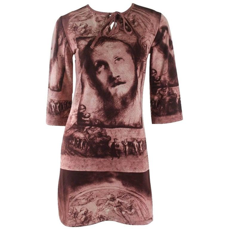 Jean Paul Gaultier Classique Label Collection 'Jesus' Dress
