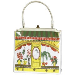 """Fleuriste"" Handbag By Soure with Florist Shop Storefront Design"
