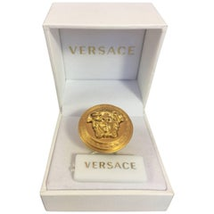 Versace Medusa Jellyfish Ring in Box, Size 10 1/2