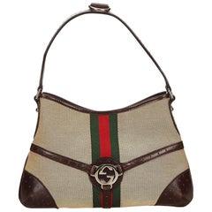 Gucci Classic Reins Web Shoulder Bag