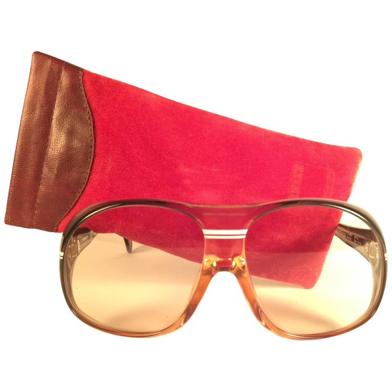 New Vintage Zeiss Marwitz Clear Green Light Lens Made W. Germany 1970 Sunglasses For Sale