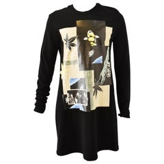 Raf Simons Oversized Sweater with Photo Prints