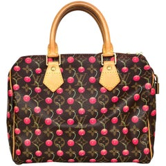 Louis Vuitton Monogram Cherry Cerises Speedy 25 Bag