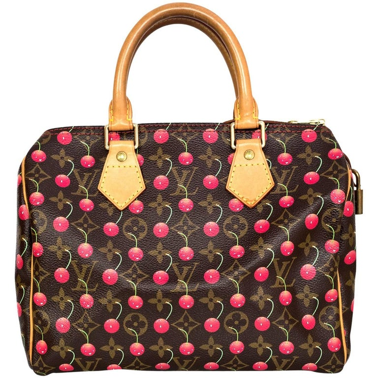 38de6610272e23 Louis Vuitton Monogram Cherry Cerises Speedy 25 Bag at 1stdibs