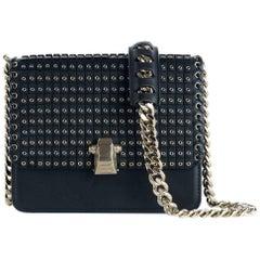 Roberto Cavalli Women's Mini Black Borsa Flap Shoulder Bag