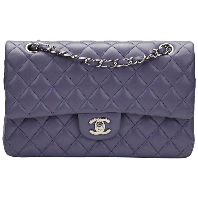2011 Chanel Lavender Quilted Lambskin Medium Classic Double Flap Bag at  1stdibs 265bf406087f0