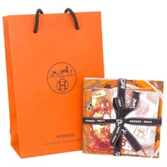 Hermes Scarf Booklets