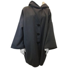 Giorgio Armani Oversize Hooded Topcoat