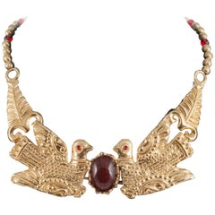 Joyous 'double dove' necklace, Cadoro, 1970s
