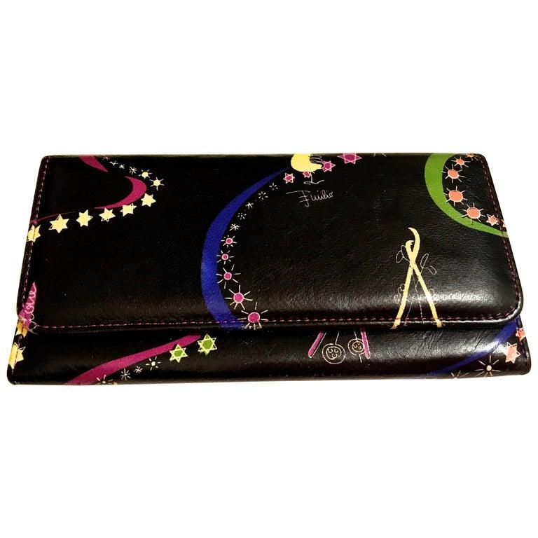 Rare Emilio Pucci Leather Wallet