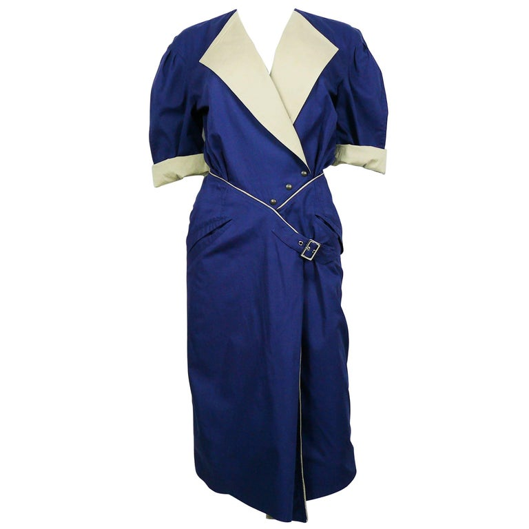 Thierry Mugler Vintage Wrap Dress