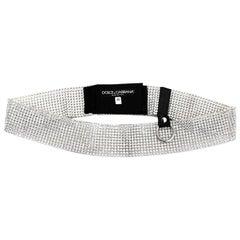 Dolce & Gabbana Crystal Belt Sz 40 with Box