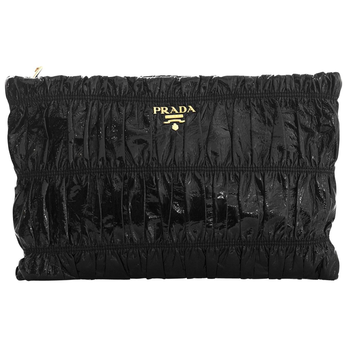 Prada 1990s Prada Evening Bag With Mink Trim EBB7FWg2wU