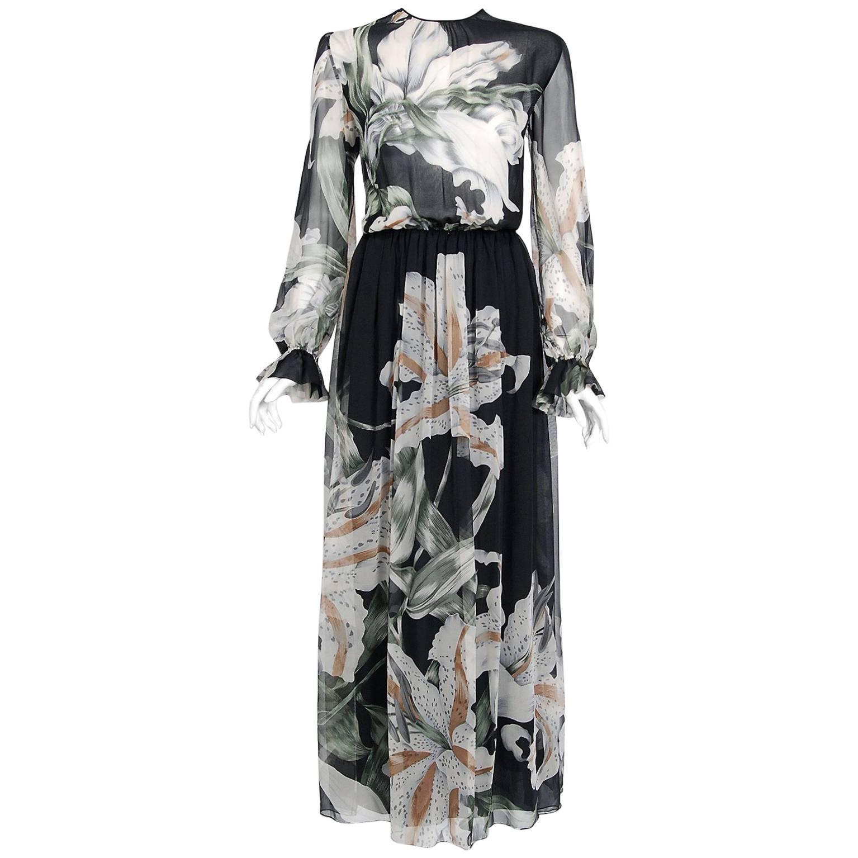 Hanae Mori Vintage Dresses