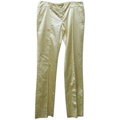 Roberto Cavalli Class Trousers Pants - Size: 12 (L, 32, 33)