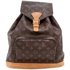 Louis Vuitton Montsouris GM Monogram Canvas Backpack Bag
