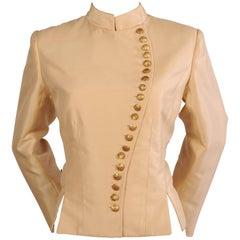 Maggie Norris Haute Couture Signature Jacket in Silk Faille