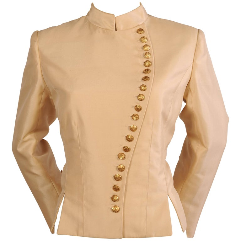 Maggie norris haute couture signature jacket in silk for Haute couture jacket