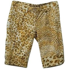 Roberto Cavalli Class Casual Capri Shorts - Size: 8 (M, 29, 30)