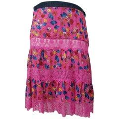 Dolce&Gabbana Lace Skirt - Size: 10 (M, 31)