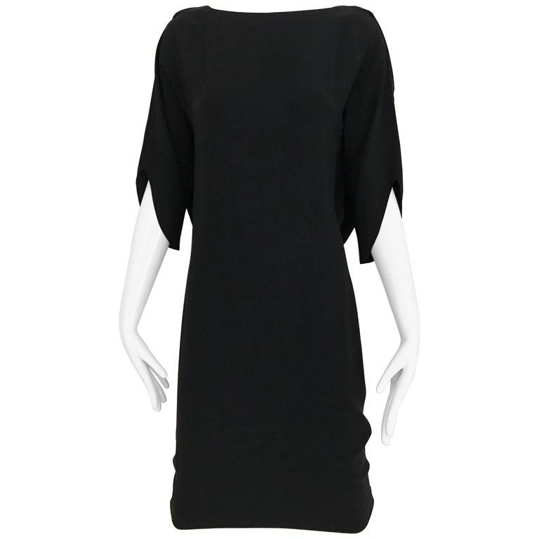 MARGIELA Black Rayon Dress
