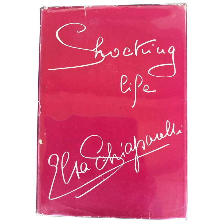 Shocking Life. The autobiography of Elsa Schaiparelli. 1st Edition. 1954