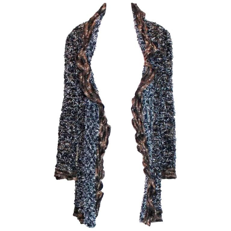 Stunning Chanel Lesage Fringed Fantasy Tweed Jacket Coat