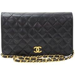 Chanel Classic Black Mademoiselle Shoulder Bag