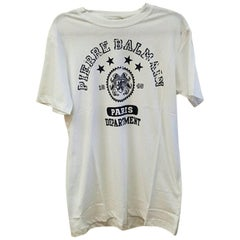 Pierre Balmain Cotton T-shirt White (Small)