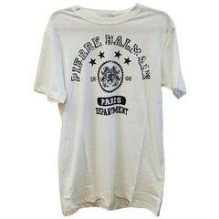 Pierre Balmain Cotton T-shirt White (Large)