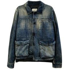 Pierre Balmain Denim Jeans Jacket Blue NWT