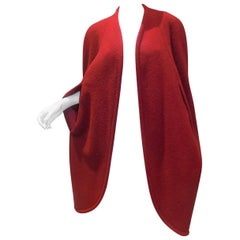 Hermes vintage beautiful red cape