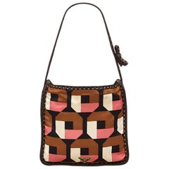 Prada Multi Colour Saffiano Print Handbag