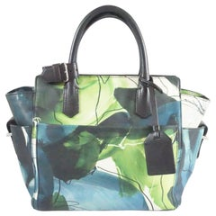 Reed Krakoff Black, Blue and Green Atlantique Mini Tote