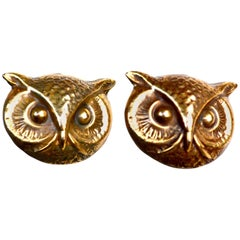 Joseff Owl Earrings