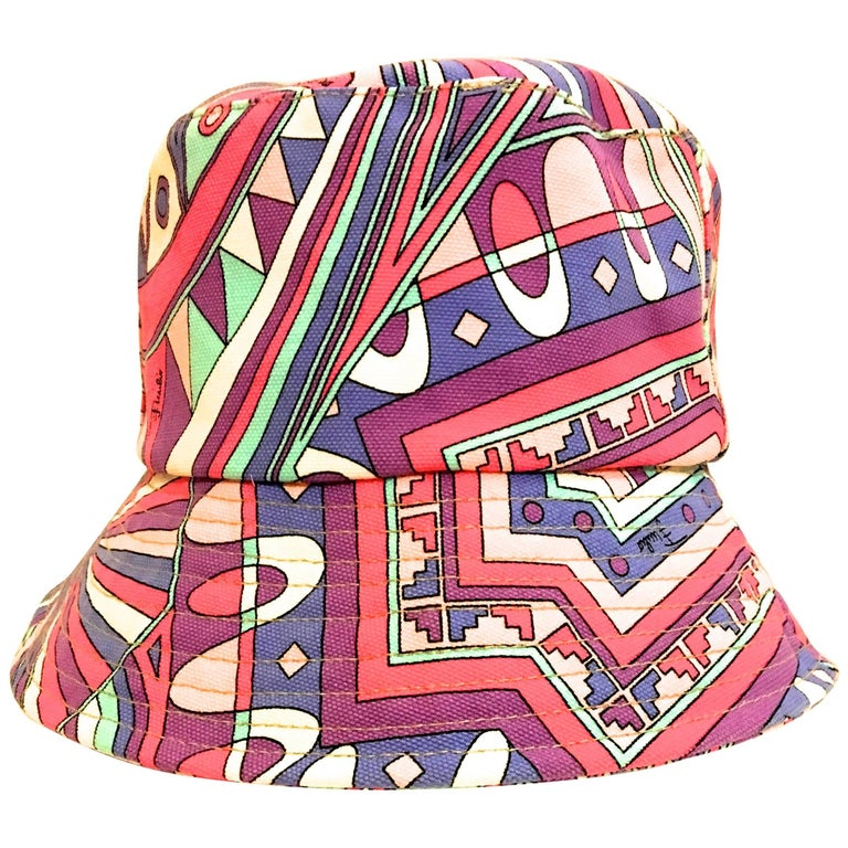 Emilio Pucci  Canvas Hat