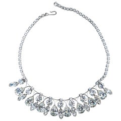 Weiss Glam Glass Drop Necklace