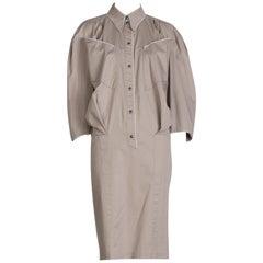 Thierry Mugler Cotton Dress