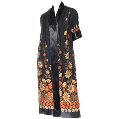 1920s Art Deco Floral Kimono