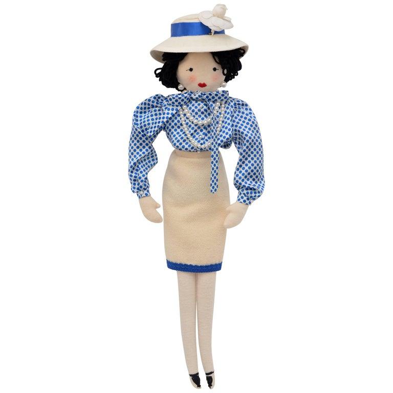 Super Rare Chanel Doll Designed By Karl Lagerfeld For Pop-Up Shop Colette  Mint