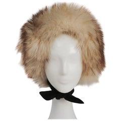 1960s Fisher Fur Mod Bonnet